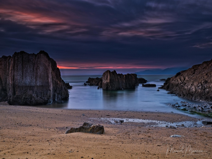 0623 Sunset Beach Seascape Photography ©Manuel Maneiro