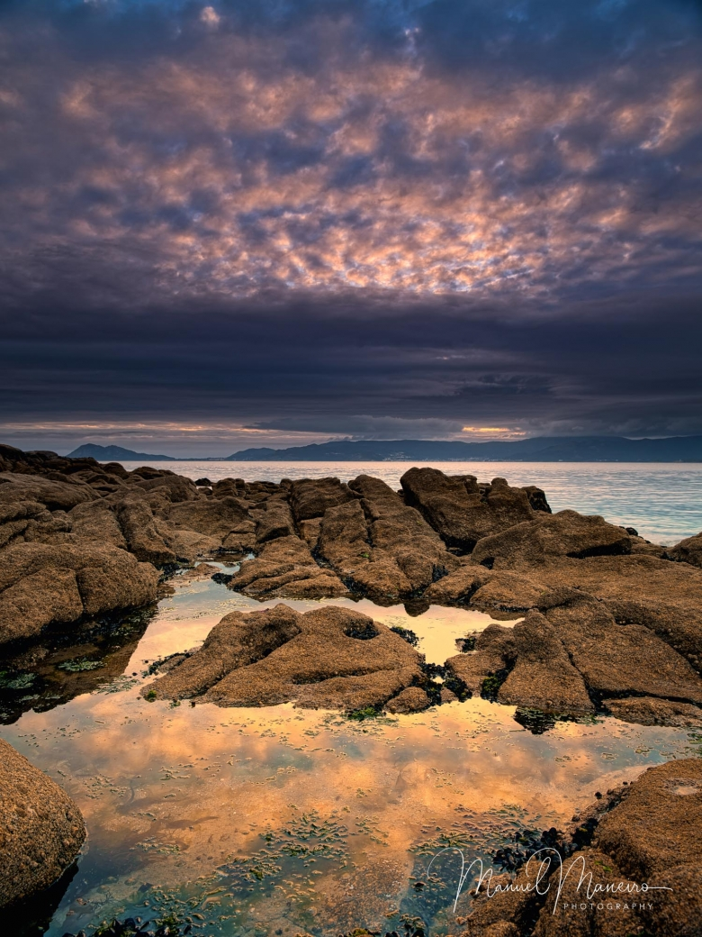 0437 Sunset Reflections Seascape Photography ©Manuel Maneiro
