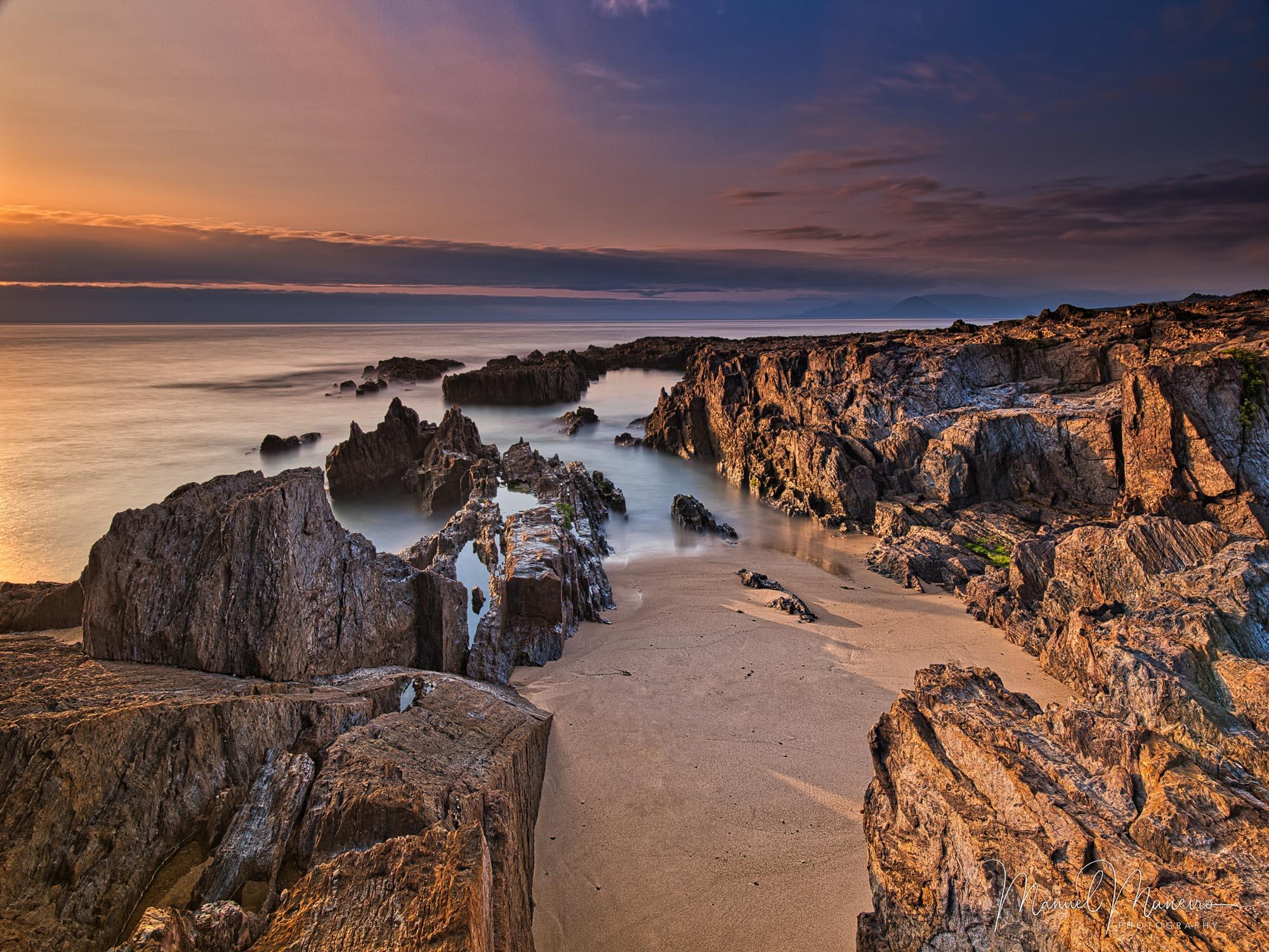 0616 Beach Sunset Seascape Photography ©Manuel Maneiro