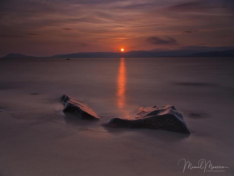 0186 Sunset Beach Seascape Photography ©Manuel Maneiro