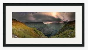 Canóns do Sil Panoramic PhotoRag Gallery Frame